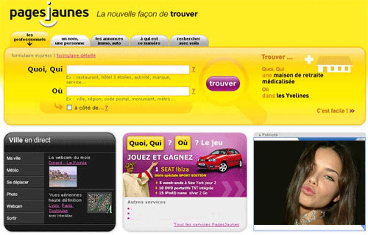 www pajesjaunes fr
